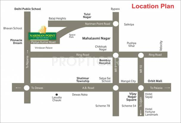 Images for Location Plan of Nariman City Nariman Point