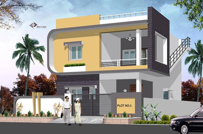 First Floor Elevation In Hyderabad : Main elevation image of gokul constructions hyderabad
