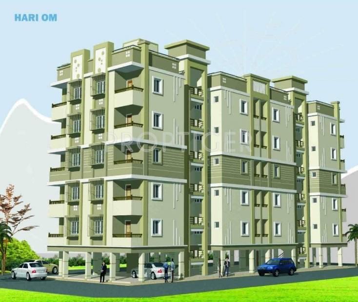 Hariom Developers Sadguru Sanidhya View Elevation