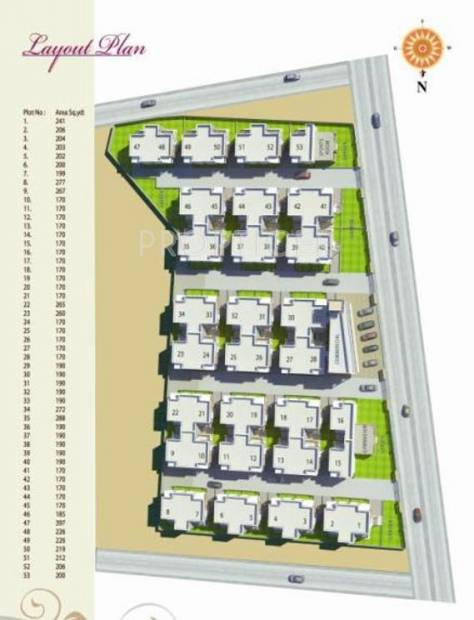 Images for Layout Plan of Hari Hariom Residency