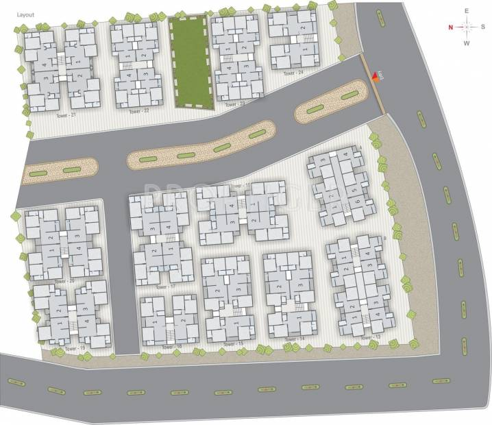 Images for Layout Plan of Labh Residency Phase 2