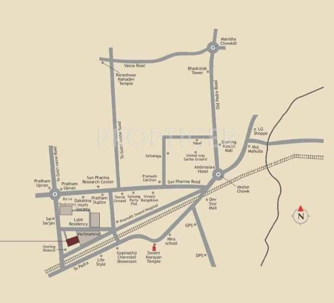 Images for Location Plan of Labh Hari Smruti