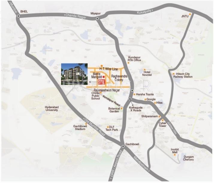Images for Location Plan of Matrix Tulip