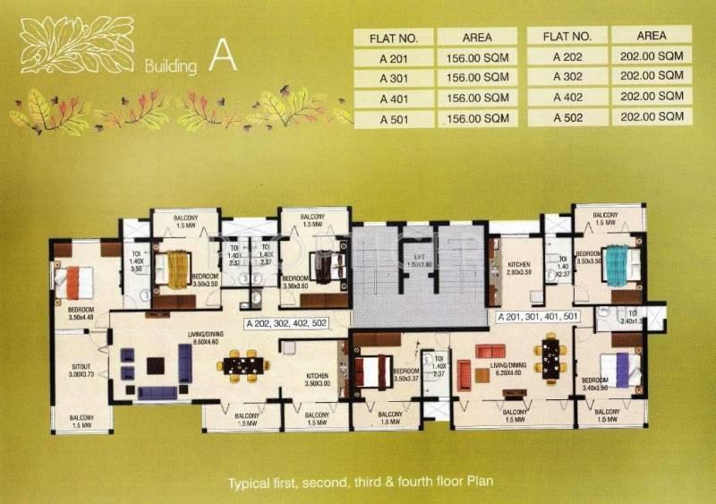 Images for Cluster Plan of Abel Oakleaf Homes