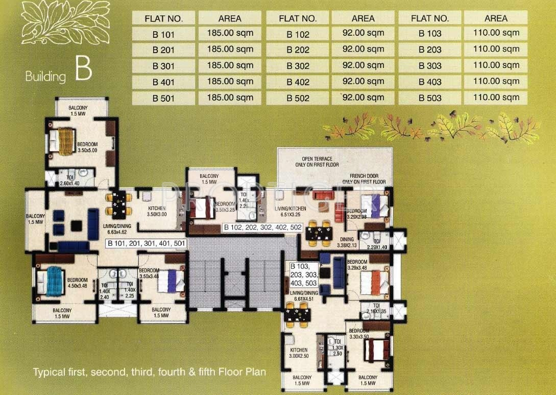 1000 Sq Ft 2 Bhk 2t Apartment For Sale In Abel Group