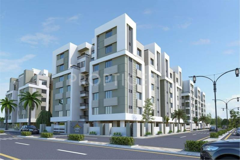 Images for Elevation of Akshar Upvan