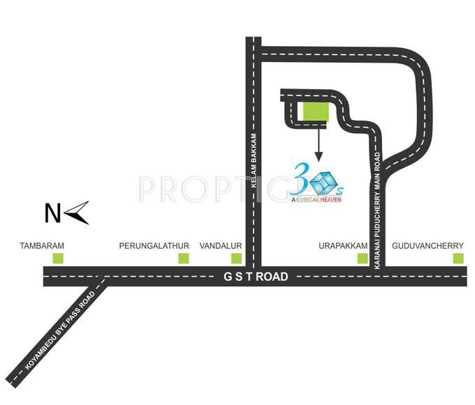 Images for Location Plan of Vijay Raja 3 Cubes