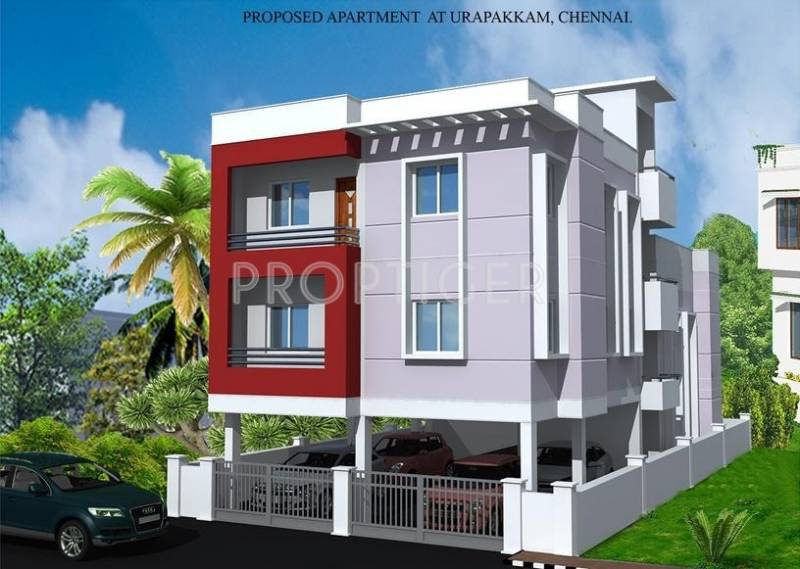 Images for Elevation of Vijay Raja 3 Cubes