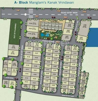 Images for Layout Plan of Manglam Kanak Vrindavan