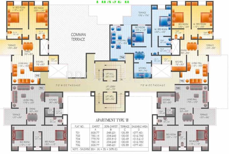 Images for Cluster Plan of Ghatge Developments Evergeen Homes Phase3