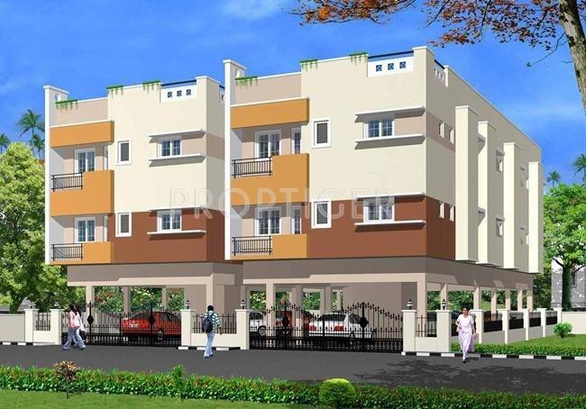 Palace Homes Sai Harini Elevation