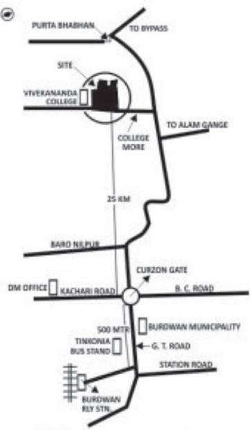 Images for Location Plan of Natural Natural City Bardhaman