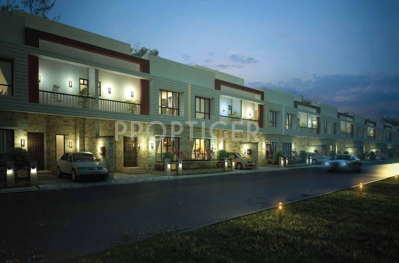 Images for Elevation of Siddha Aangan Villas