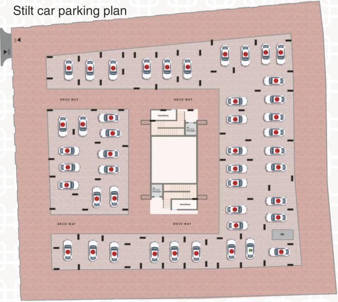 Images for Cluster Plan of Poorvi Srinivasa Grand