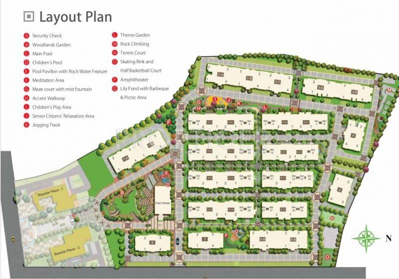 Images for Layout Plan of Peninsula Ashok Astoria Villas