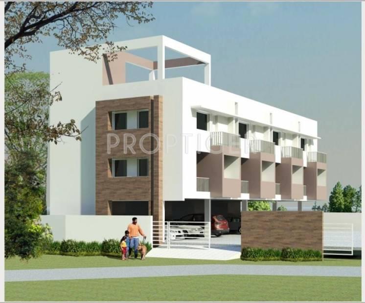 Abhinitha Foundation Vikas Verdant  Villa Elevation