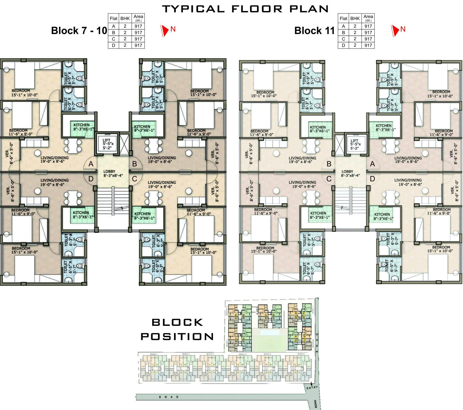 2 Or 3 Bhk Flat Interior Designing Cost In Kolkata: 1268 Sq Ft 3 BHK 2T Apartment For Sale In Rohra Developers
