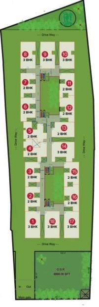 Images for Layout Plan of Sree Daksha Darza