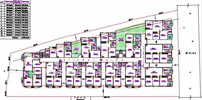 Images for Cluster Plan of Adam and Bandari Constructions A And B Residency