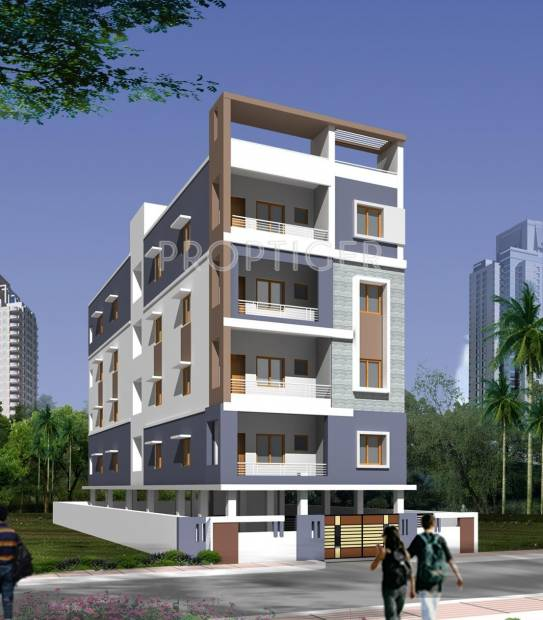 Good Earth Infra Aparments Elevation