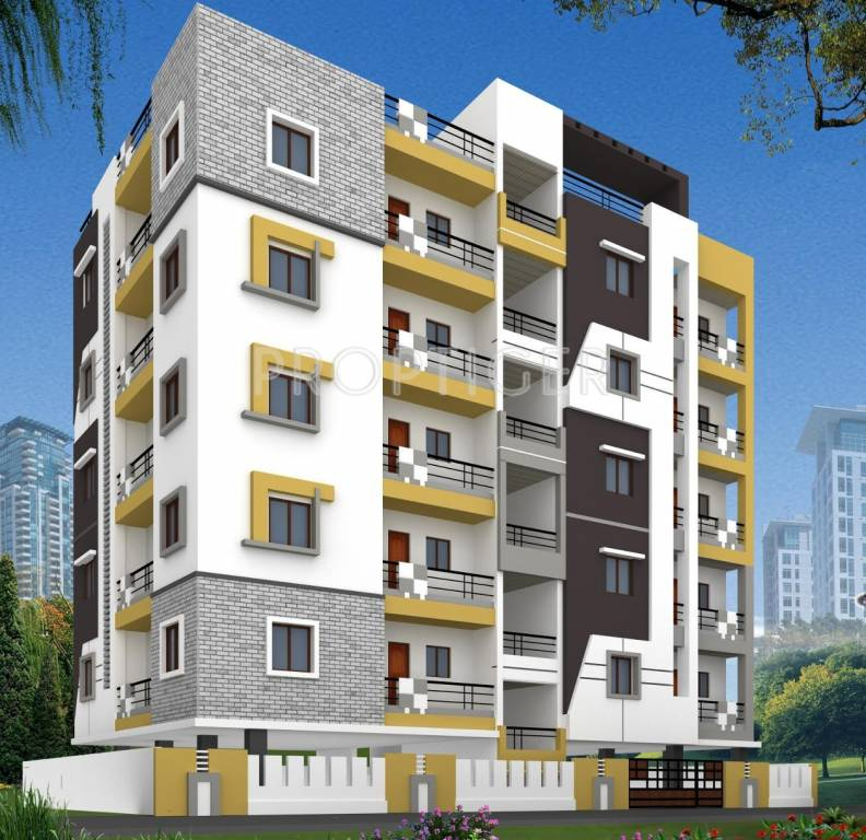 Decent Apartments: Good Raghavendra Residency In Kondapur, Hyderabad