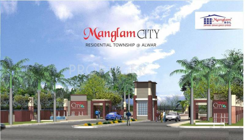 Images for Elevation of Manglam City Villas
