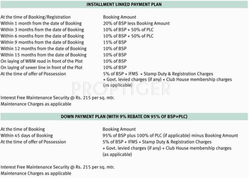 Images for Payment Plan of Emaar Gomti Greens