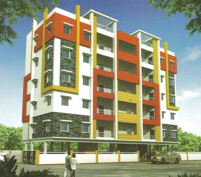 Images for Elevation of Well Build Constructions Sai Harsha Arcade