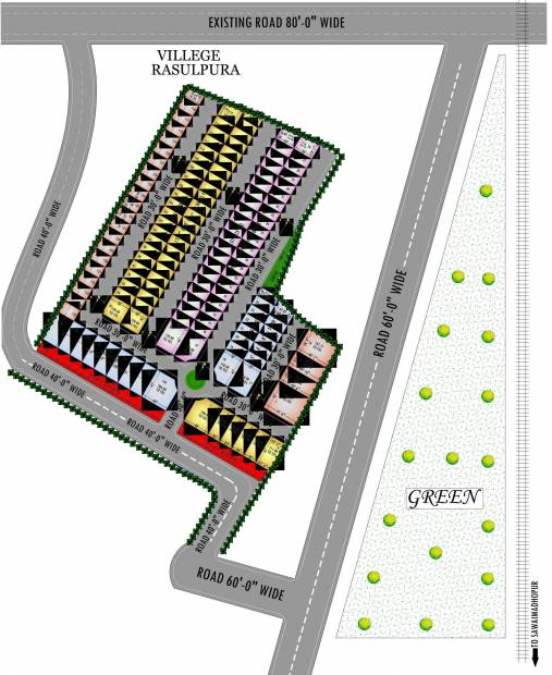 Images for Layout Plan of AJD Dream Aashiyana