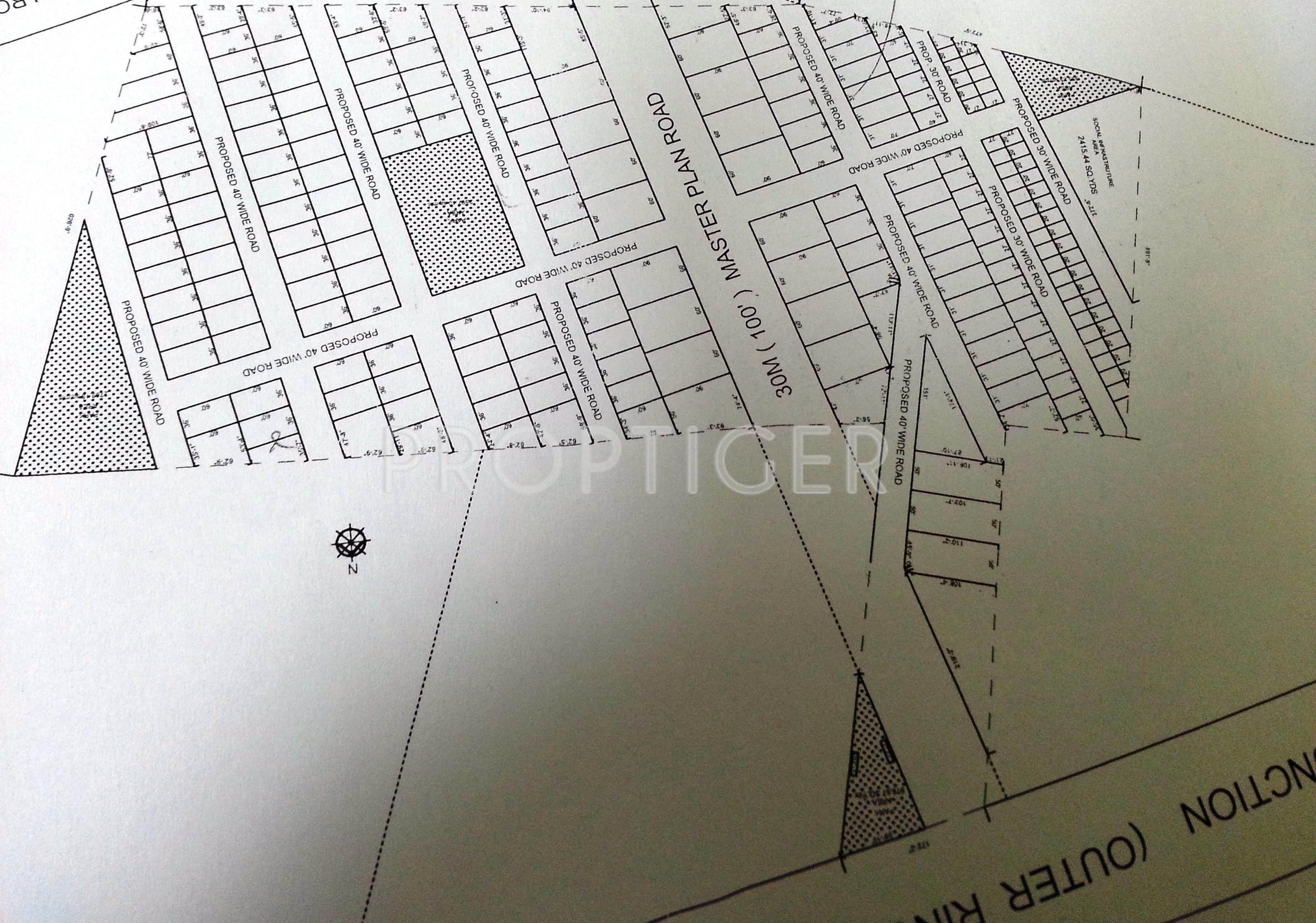 540 Sq Ft Plot For Sale In Ypr Real Estate Enclave