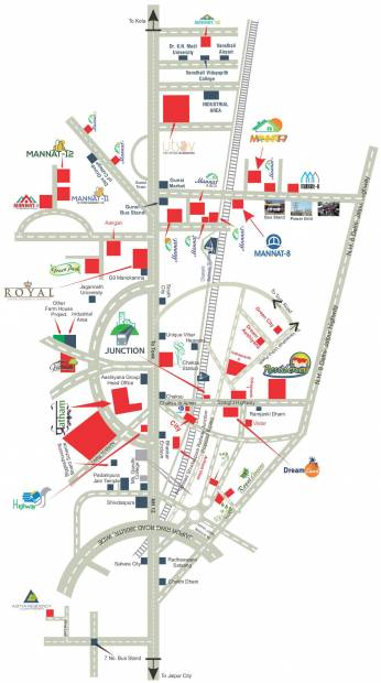 Images for Location Plan of AJD Mannat 8