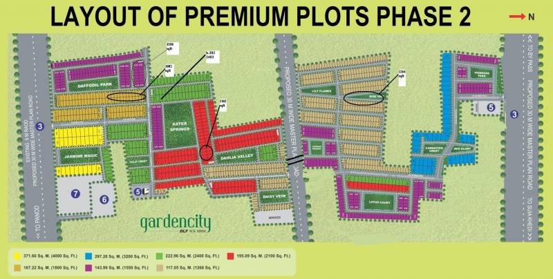 garden-city-plot Layout Plan