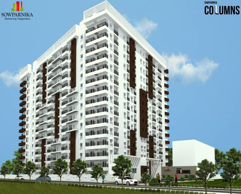 Images for Elevation of Sowparnika The Columns