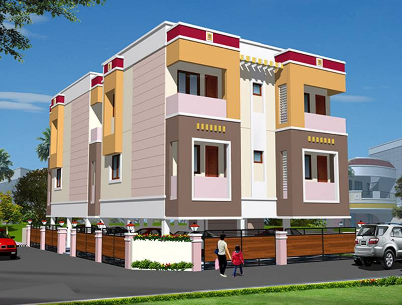 Images for Elevation of Sree Builders Flat Promoters Vidhya