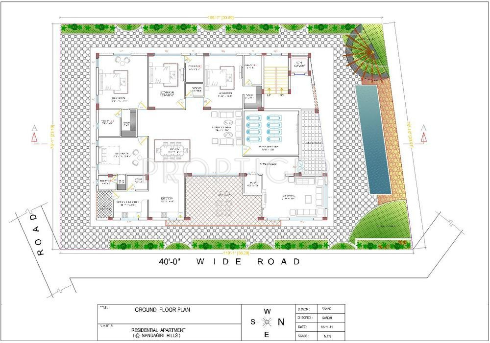 5000 Sq Ft 4 Bhk 4t Apartment For Sale In Vamsiram Jyothi Maddula Jubilee Hills Hyderabad