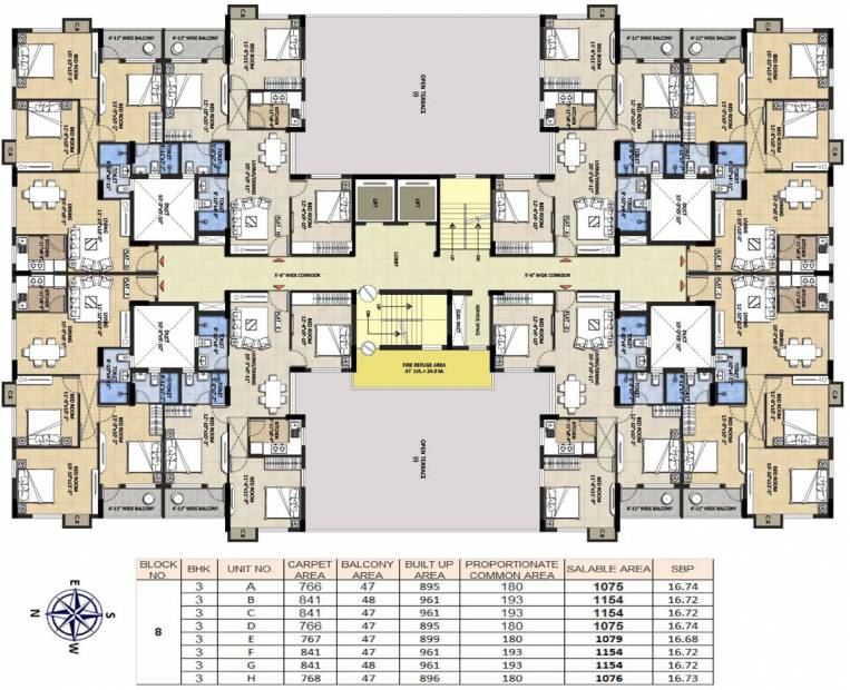 Images for Cluster Plan of Devaloke Sonar City Phase I