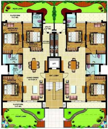 Images for Cluster Plan of Omaxe Royal View Homes