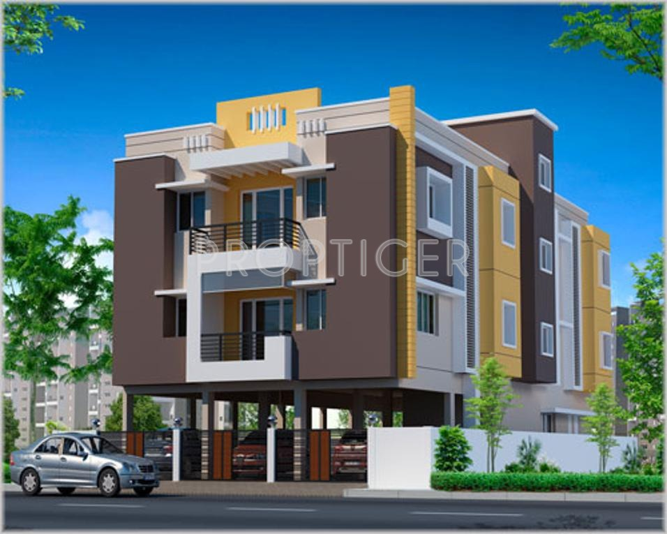 Front Elevation Noida : Main elevation image of gr natarajan and company gokulam