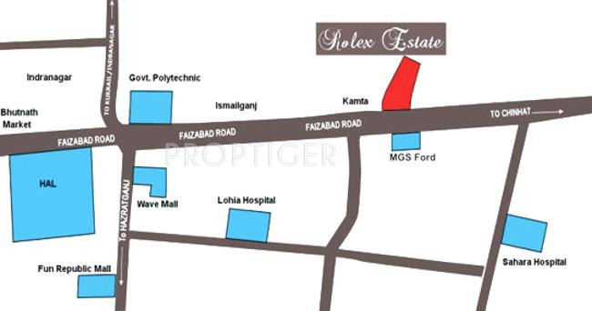 Images for Location Plan of Amna Rolex Estate