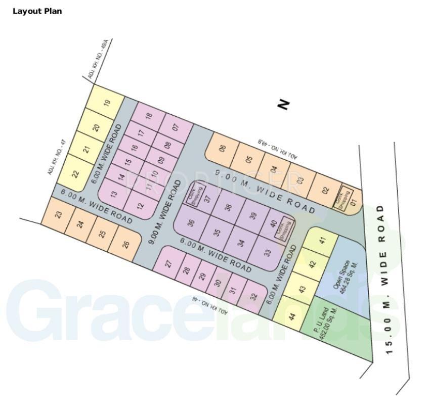 1459 sq ft Plot for Sale in Gracelands Gratitude Gumgaon Nagpur
