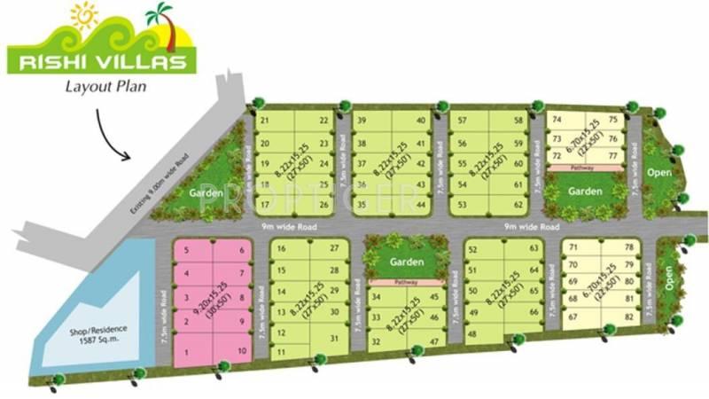 Images for Layout Plan of Raj Rishi Villas