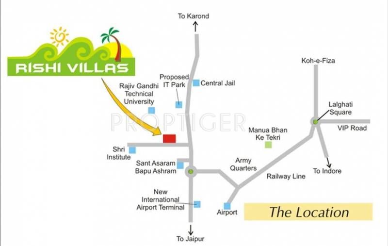 Images for Location Plan of Raj Rishi Villas