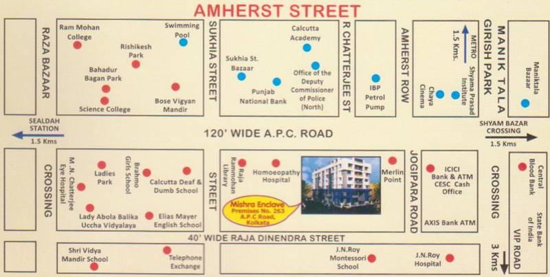Images for Location Plan of Mishra Mishra Enclave
