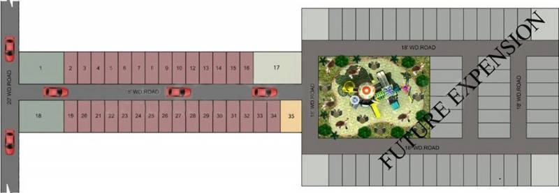 Images for Layout Plan of Global Prime Villas