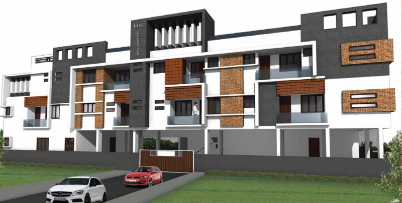 Images for Elevation of MS Gulmohar Apartments