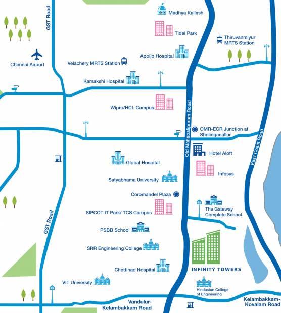 Images for Location Plan of Godrej Azure Phase 2
