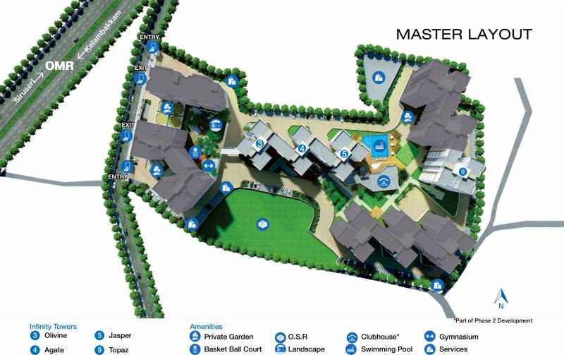 Images for Master Plan of Godrej Azure Phase 2