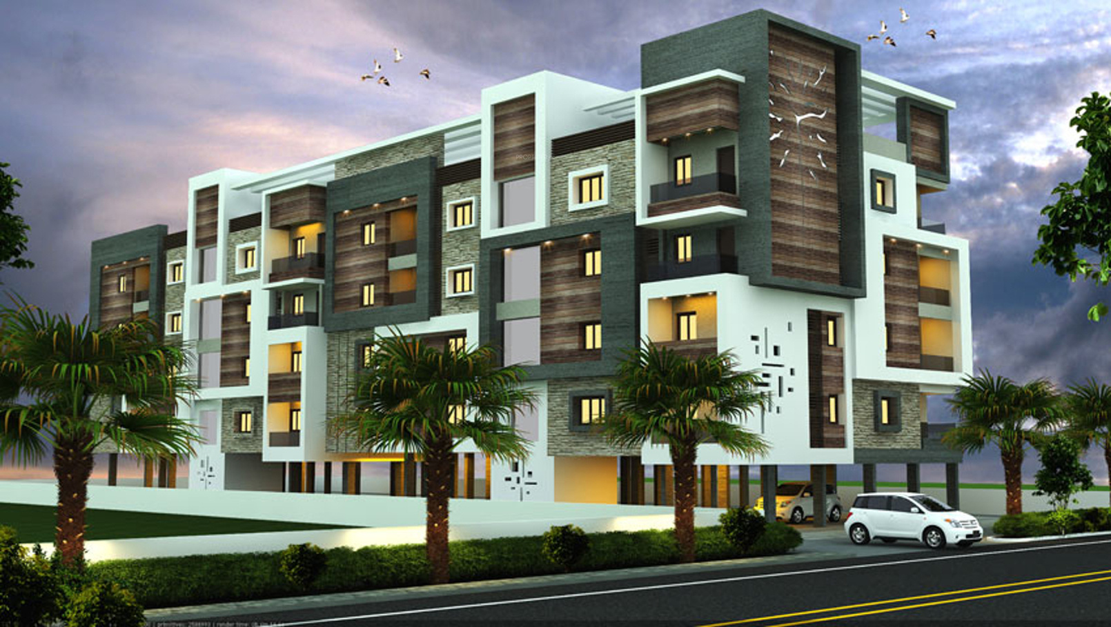 2 Floor Apartment Elevation : Sq ft bhk t apartment for sale in aalayam