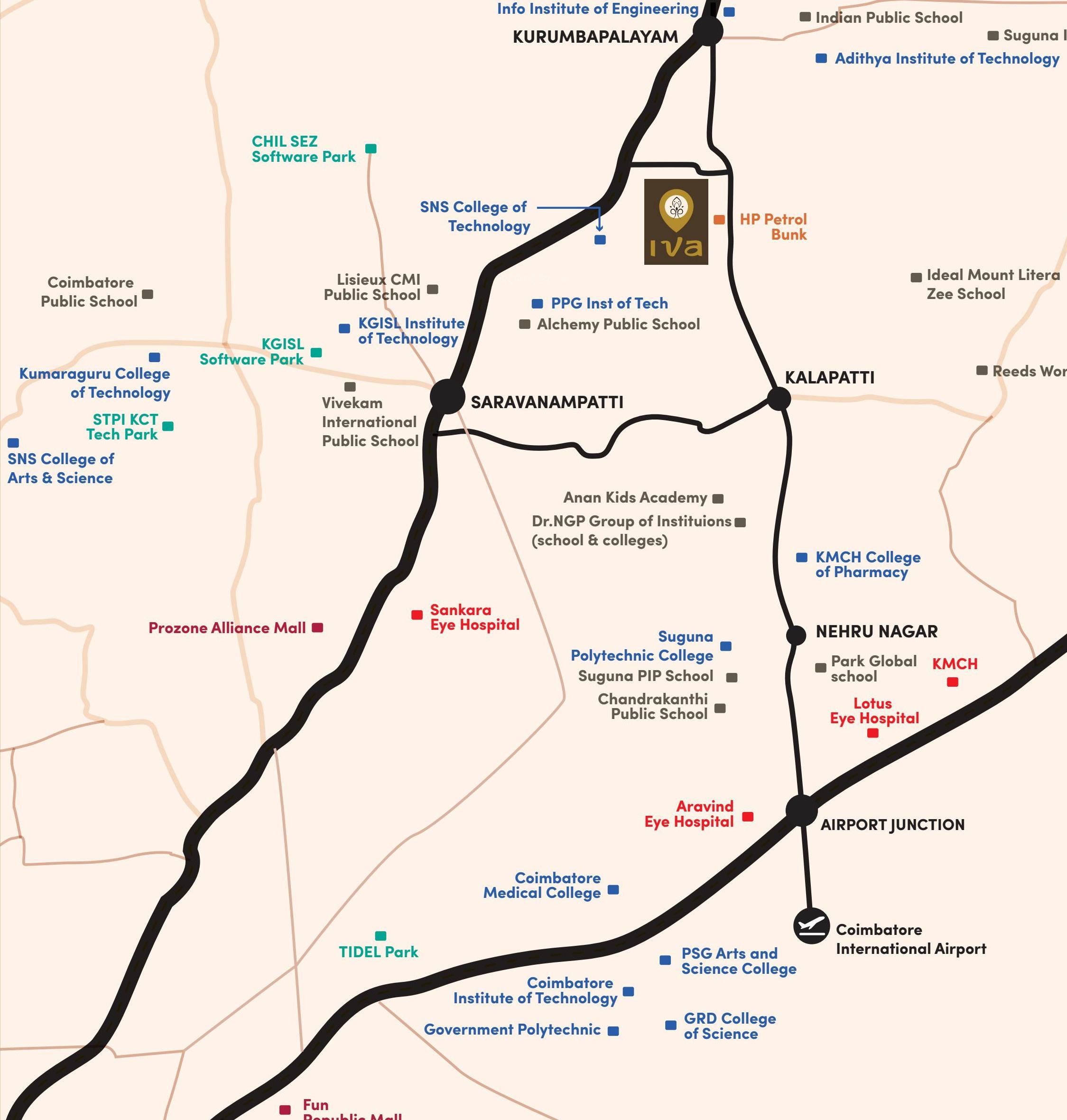 Iva Agam in Kalapatti Coimbatore Price Location Map Floor Plan