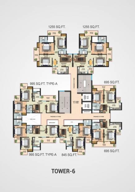 Images for Cluster Plan of Migsun Mannat
